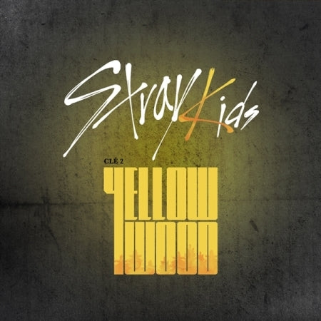 STRAY KIDS – CLE 2 : YELLOW WOOD (Special album) Limited edition (PRE-ORDER)