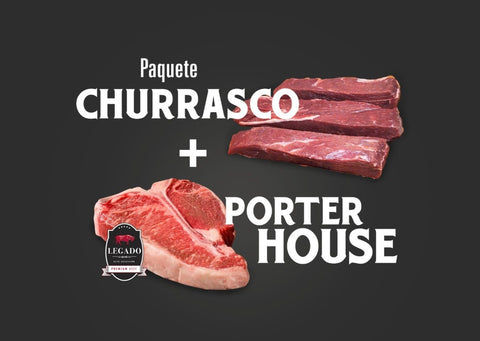 Churrasco y porterhouse 4meats