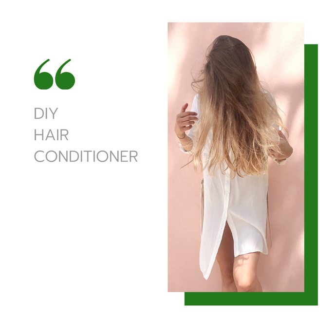 Easy DIY Hair Conditioner