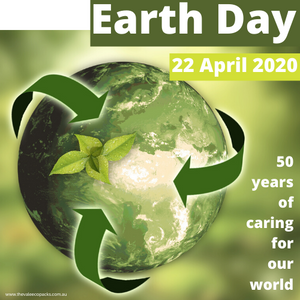 Earth Day 22 April 2020 50 year anniversary