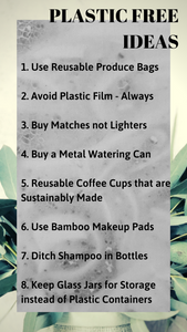 Some Simple Plastic Free Ideas