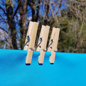 Go Bamboo Clothes Pegs - The Vale Eco Packs Eco Gift Packs and Eco Products