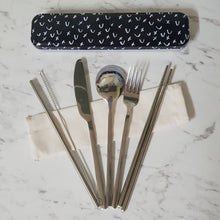 Retro Kitchen Carry Your Cutlery Set - The Vale Eco Packs