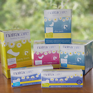 Natracare Feminine Hygiene - The Vale Eco Packs Eco Gift Packs and Eco Products