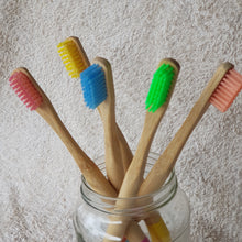 Bamboo Brush Co Toothbrush - The Vale Eco Packs Eco Gift Packs and Eco Products