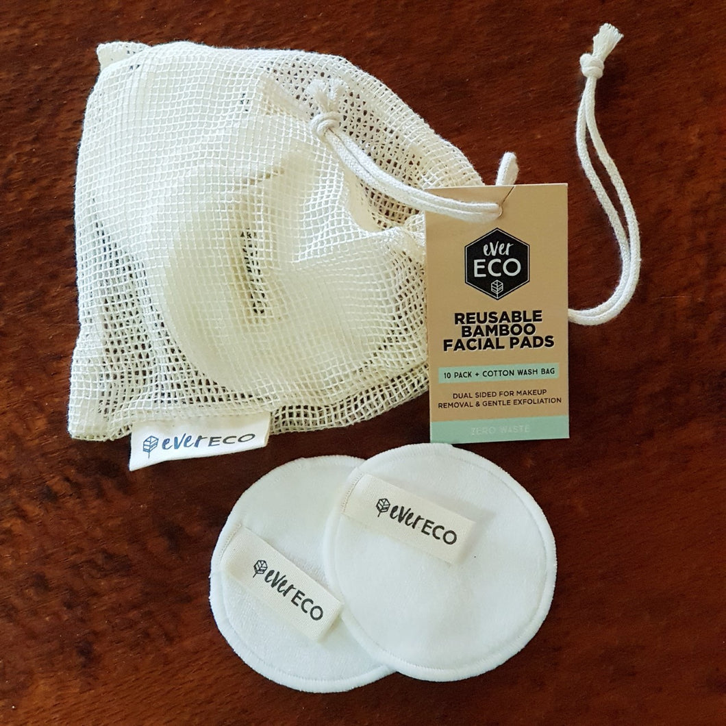 Ever Eco Reusable Facial Pads (10 Pack) - The Vale Eco Packs
