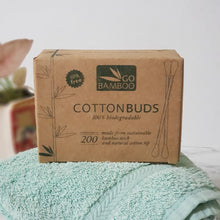 Go Bamboo Cotton Buds - The Vale Eco Packs
