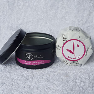 Eco Hair Care Pack - Lavender & Rose Geranium - The Vale Eco Packs