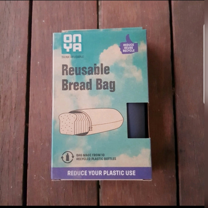 Onya Bread Bags (Charcoal) - The Vale Eco Packs