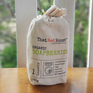 That Red House Organic Soapberries (250g Bag) - The Vale Eco Packs Eco Gift Packs and Eco Products