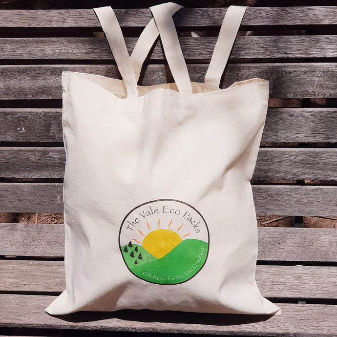 Calico Shopping Bag - The Vale Eco Packs