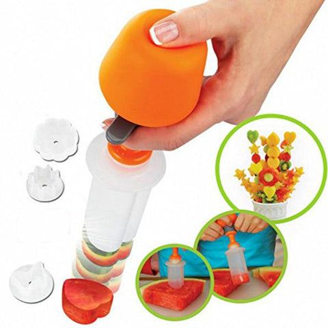 Fruit Shape Cutter Slicer Shredders Slicers - Cheap Gear Here