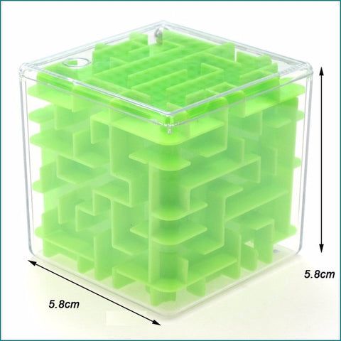 3D Mini Maze Cube Puzzle - Cheap Gear Here