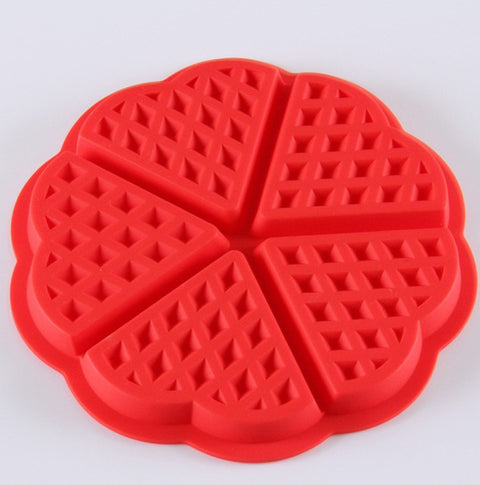 Silicone Waffle Maker Pan Cooking Tools - Cheap Gear Here