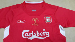 quality design 96963 3a078 2005 Liverpool Champions League jersey