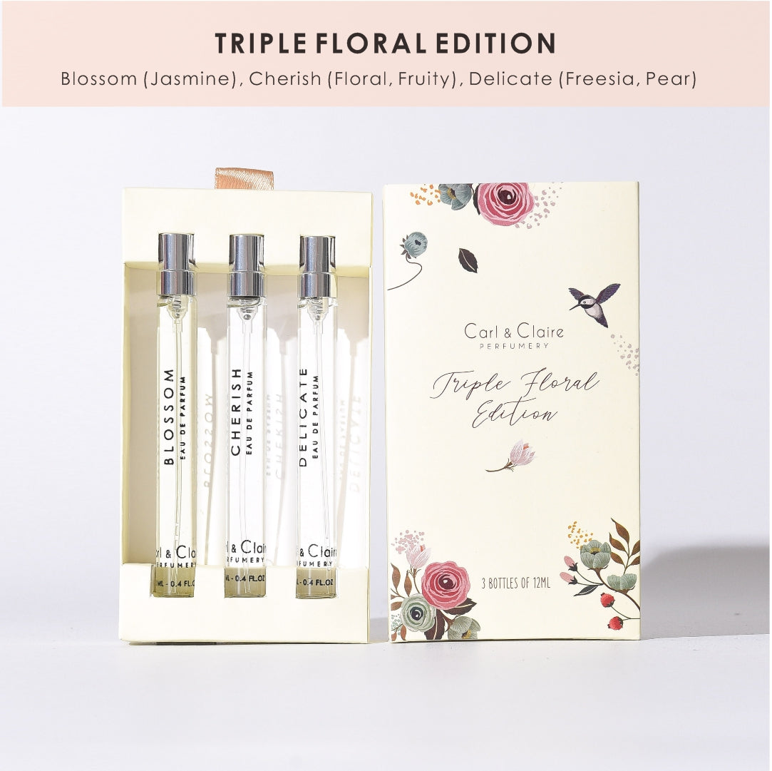TRIPLE FLORAL EDITION 3 x 12 ML