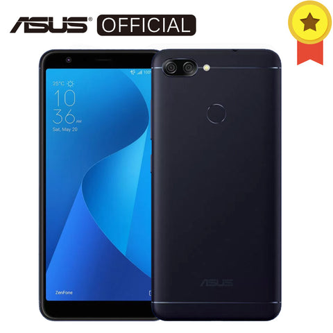 Asus Zenfone Pegasus 4S Max Plus (M1) 5.7 inch 18:9 Full Screen Octa Core 4GB RAM 32GB ROM Android7.0 4130mAh Cellphone Touch ID - onemagic