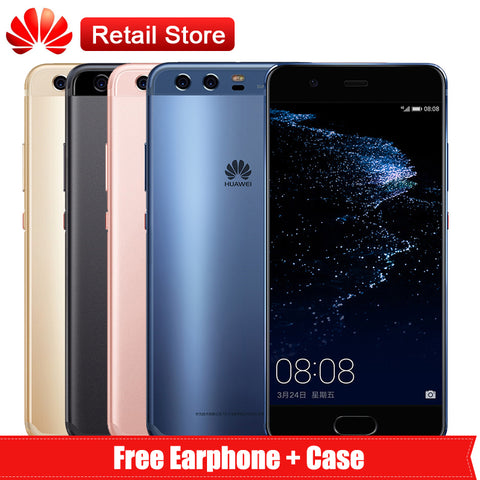 "Huawei P10 4GB RAM 64GB ROM Global Firmware Full LTE Band Mobile Phone Octa Core 5.1"" Dual Rear Camera 20.0MP+12.0MP NFC OTG OTA - onemagic"
