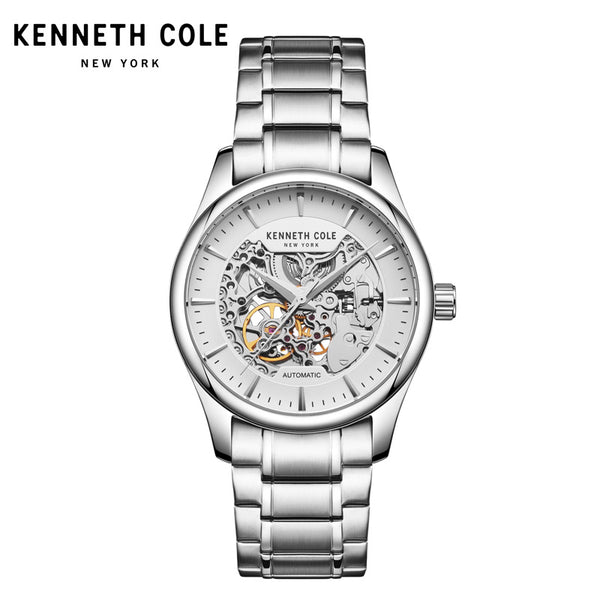 Kenneth Cole Mens Mechanical Wristwatches  Automatic Self-Wind Steel Waterproof Men Watches - onemagic