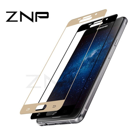 ZNP 9H 0.3mm Tempered Glass For Samsung Galaxy S7 S6 A3 A5 A7 2017 A8 Plus Full Screen Protector Film For Samsung J3 J5 J7 Glass