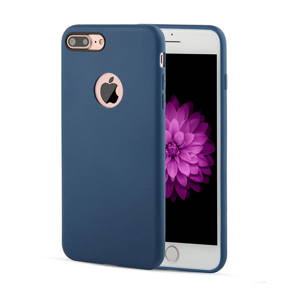 Solid Candy Color Phone Cases for iPhone 7 6 6s Plus 5 5s SE Case Ultra Thin Durable Soft TPU GEL Silicone Back Cover Funda Capa - onemagic