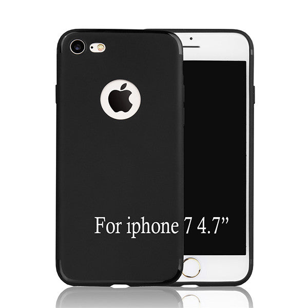 Ultra thin Soft Rubber Cover For iphone 7 7 Plus Funda Top Quality Silicone TPU ShockProof Anti-Skid Protector Phone Cases Coque - onemagic