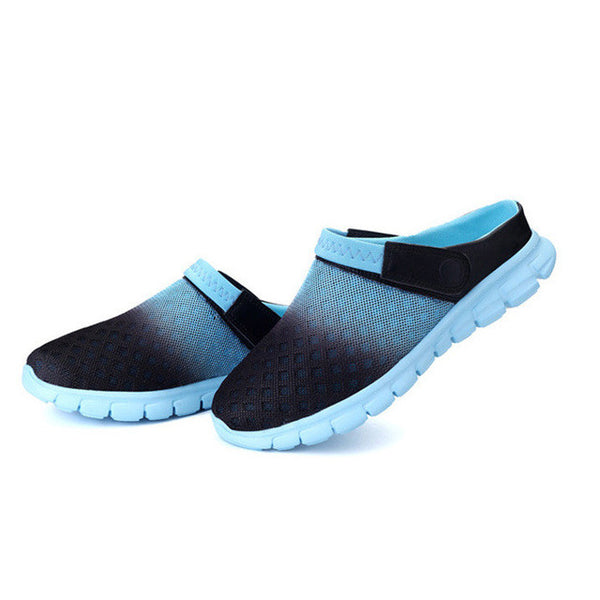 Merkmak Big Size 36-46 Men Summer Shoes Sandals 2017 Beach Flip Flops Mens Slippers Light Breathable Outdoor Boat Casual Shoes - onemagic