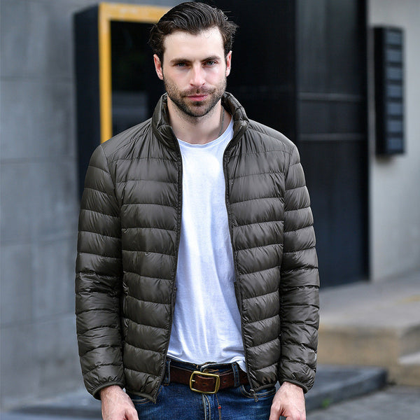 Winter down Casual Men's Duck Down Jackets - onemagic