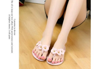 Summer female Korean version of the word drag sand beach flat sandals fashion - onemagic