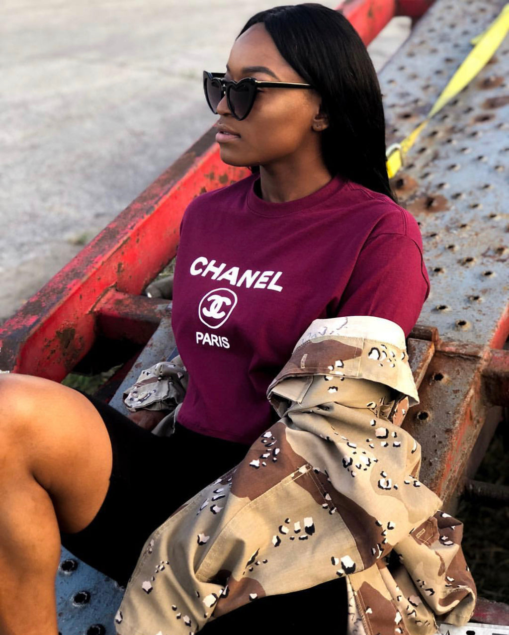 Chanel Cropped T-Shirt