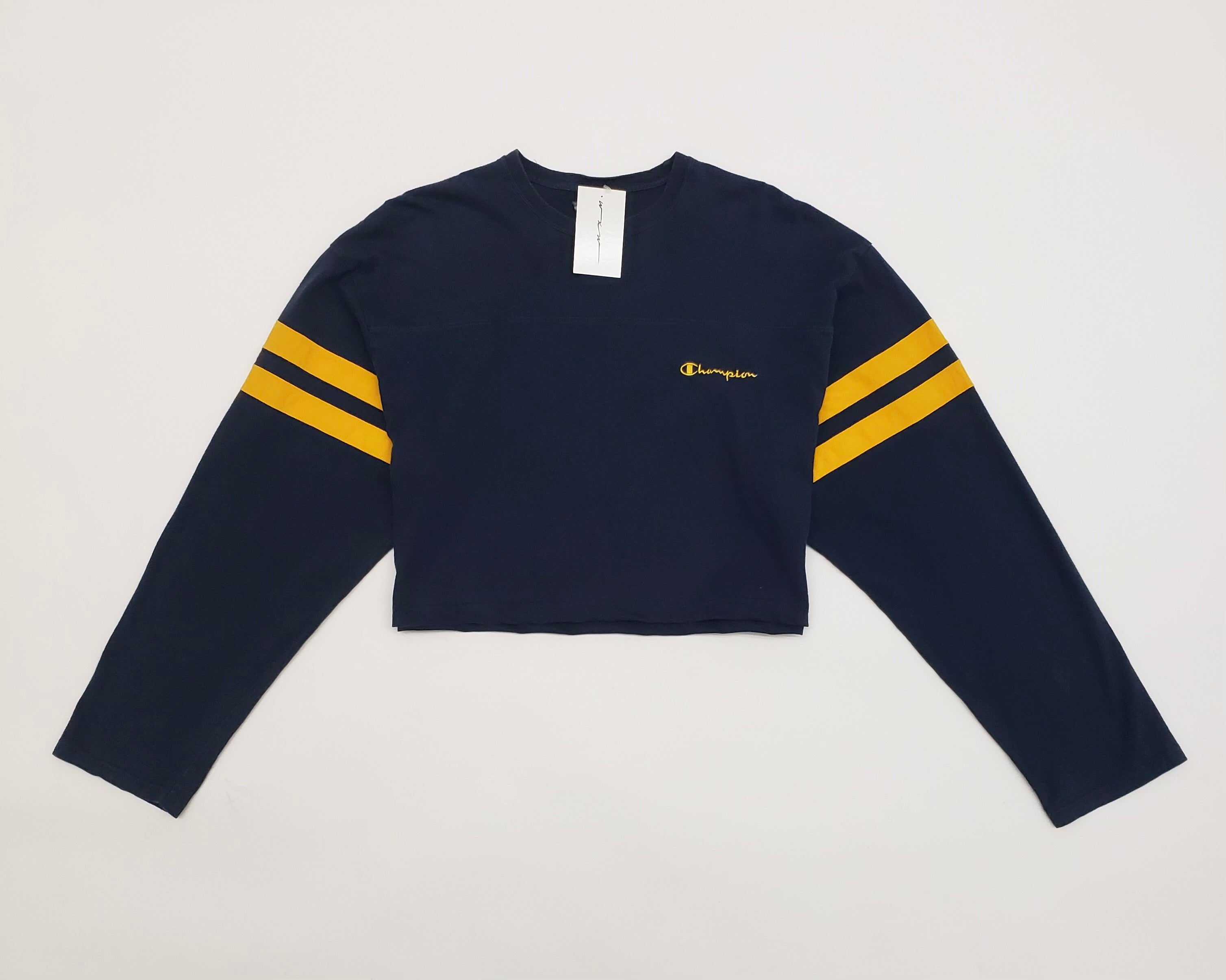 Champion Long Sleeve Crop Top