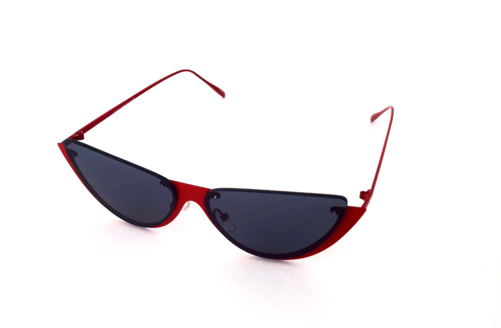 Sexy Modern Cat Eyed Metal Framed Shades
