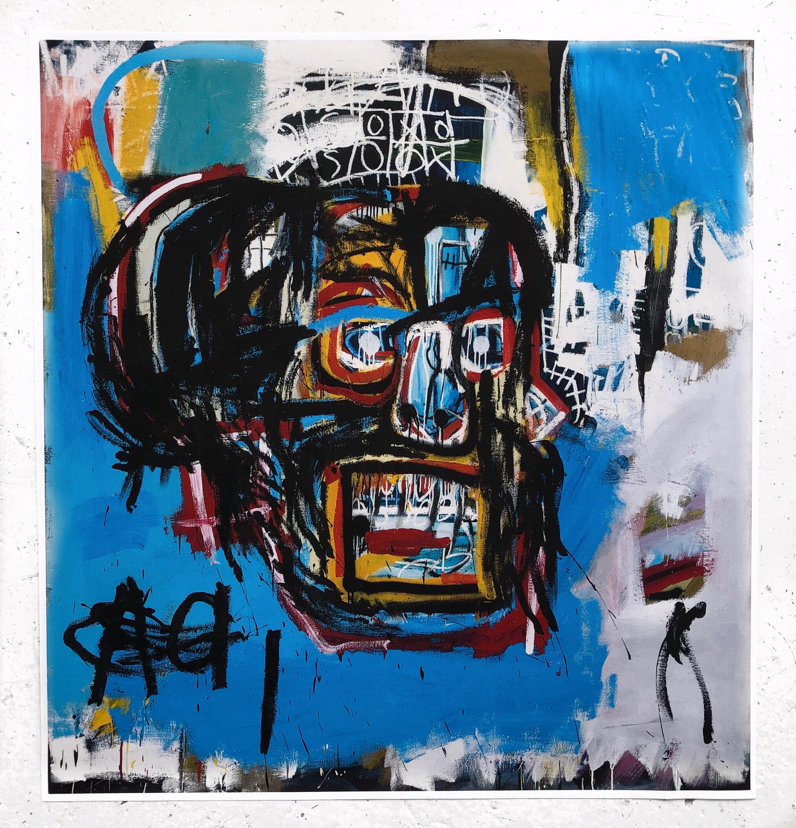 Jean-Michel Basquiat The Untitled Basquiat, From 1982