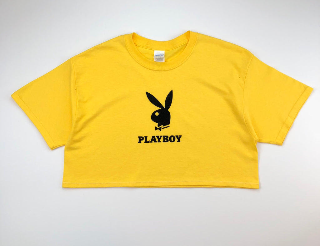 Playboy Bunny Cropped T-Shirt