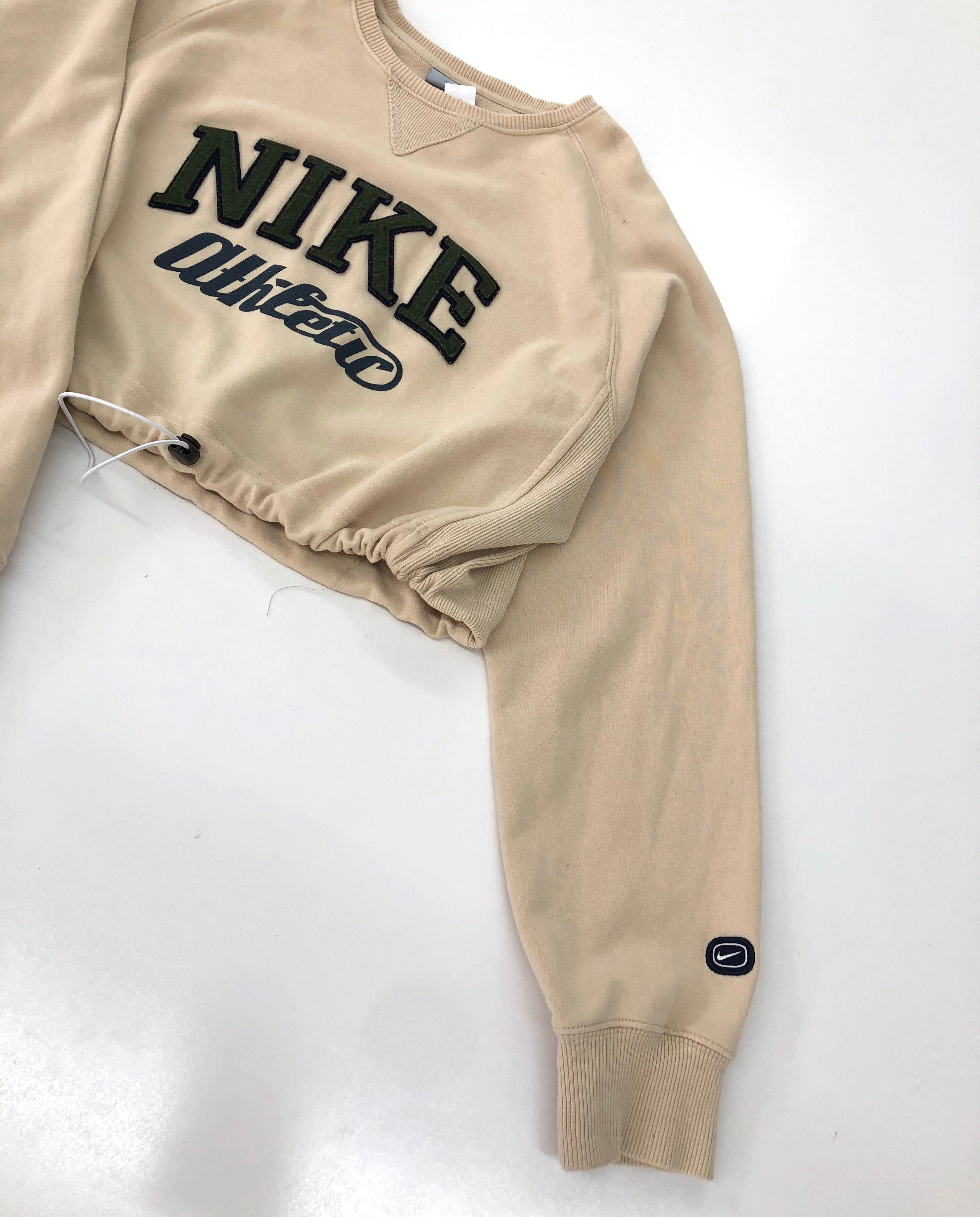 Nike Drawstring Crop Top