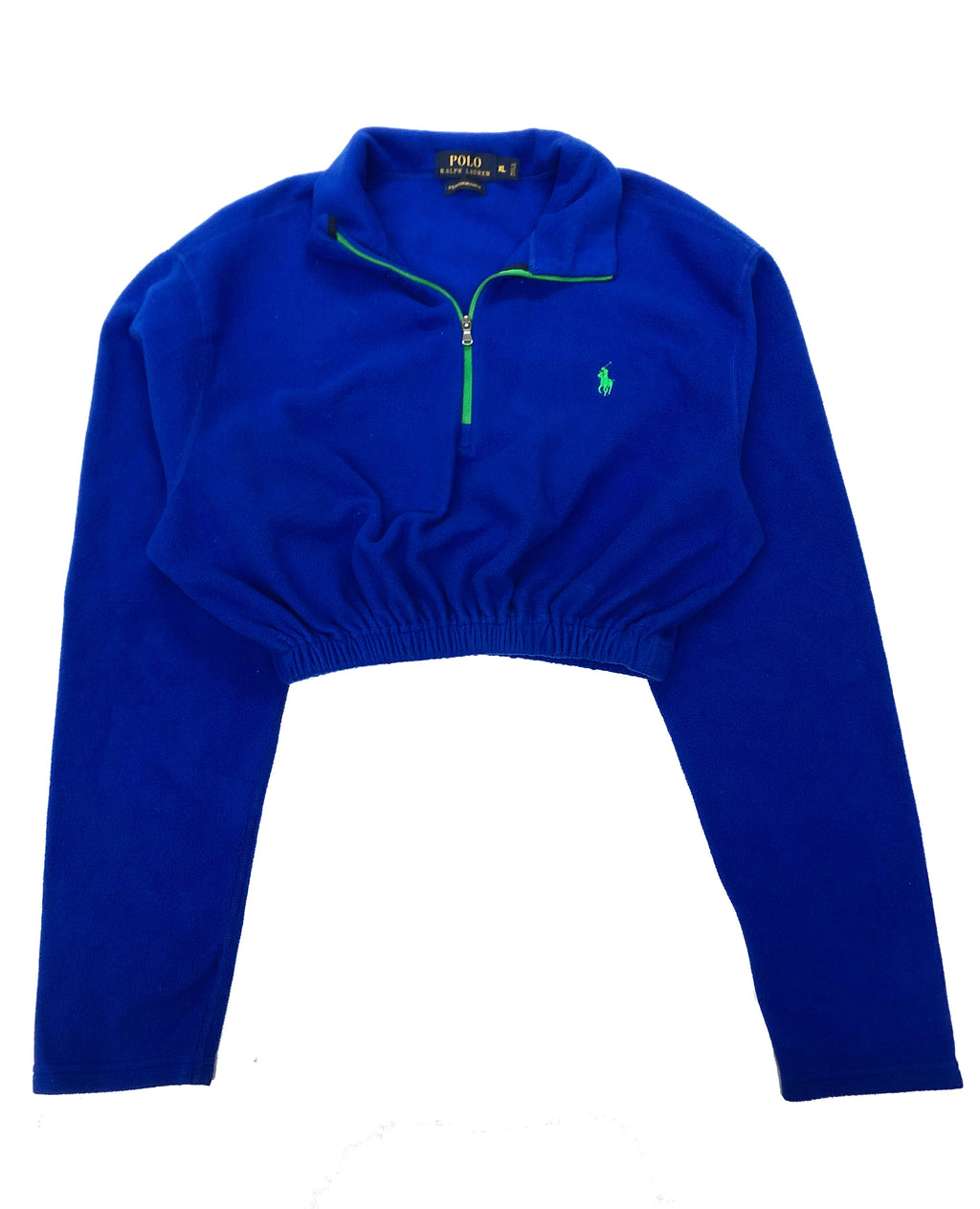 Ralph Lauren Fleece Elastic Crop