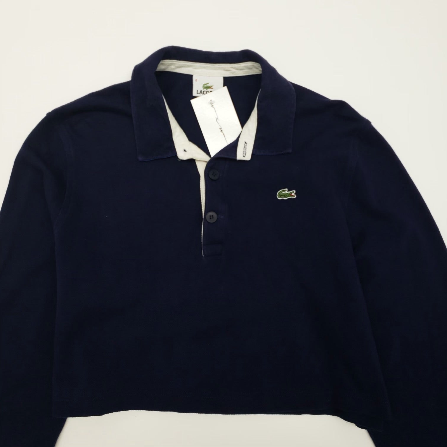 Lacoste Polo Crop Top