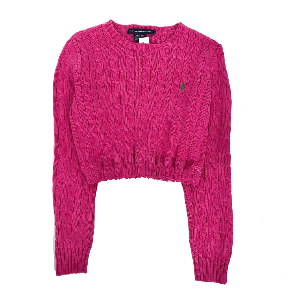 Ralph Lauren Elastic Sweater Crop