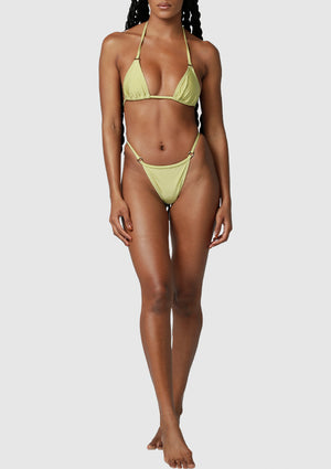 The Indi String Bottoms - Olive