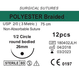 Sutures (5x12 pcs)