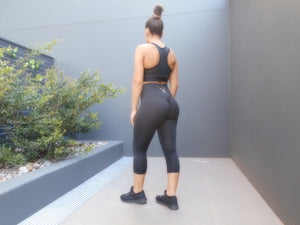 Nikiaya Scrunch 7/8 High Waist Leggings