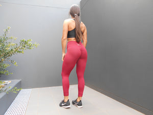 TSIR NIKIAYA Full Length Scrunch High Waist Leggings