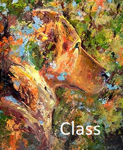 "KB2 Video of Zoom Class, ""Painting Acrylics with Palette Knives"", by Kathleen Buck"