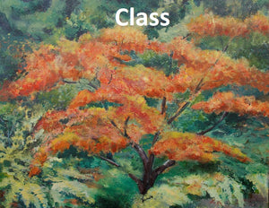 "KB17 Video of Zoom Class, ""Painting Trees"", by Kathleen Buck"