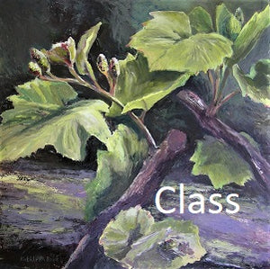 "KB8 Video of Zoom Class, ""Painting Vines & Vineyards"", by Kathleen Buck"