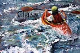 "KB13 Video of Zoom Class, ""Painting Water- Transparencies & Reflections"", by Kathleen Buck"