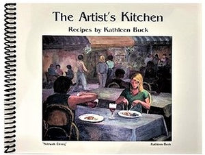 "KBBook ""The Artist's Kitchen"", by Kathleen Buck"