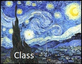 "LW8 Video of Zoom Class, ""Learn to Paint Like Van Gogh, Part 2"", by Lynne Wintermute"