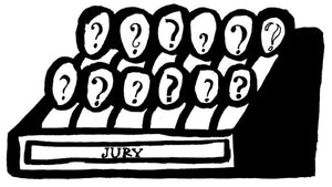 Jury Fees - 3 Items