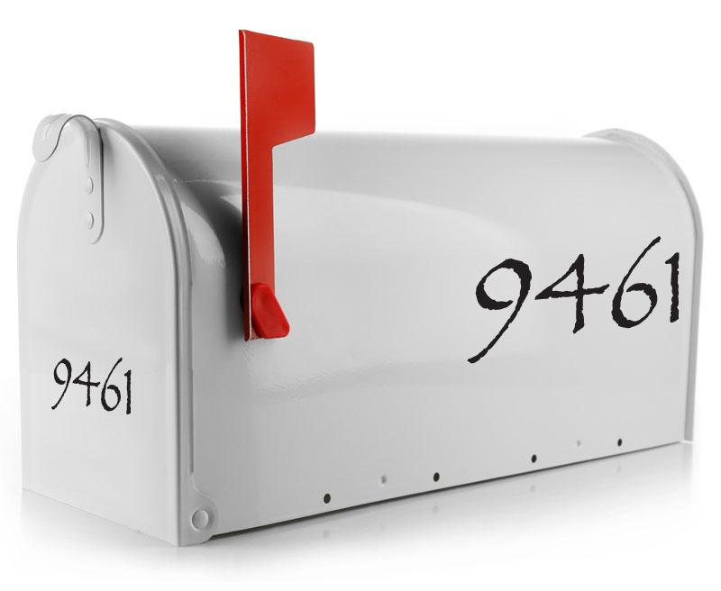 Mailbox Decal - The Throne